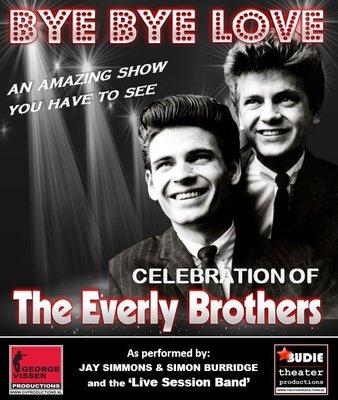 The Everly Brothers - Bye Bye Love, op vrijdag 14 december 2018 om 20.30 uur