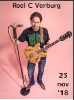Stand-up comedy met Roel C. Verburg, op vrijdag 23 november 2018 om 20.30 uur