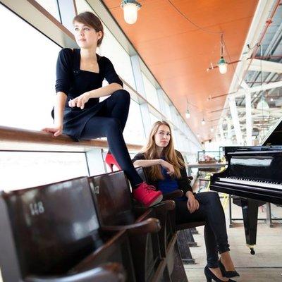 Pianoduo Beth & Flo - Rachtime, op zaterdag 15 februari 2020 om 20.30 uur